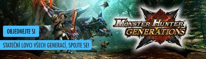 Monster Hunter Generations- objednejte