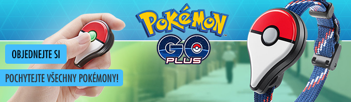 Pokemon GO plus- objednejte si
