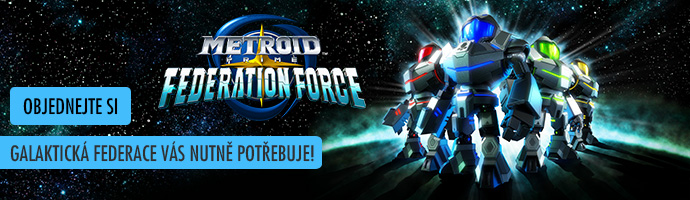 3DS Metroid Prime: Federation Force - objednejte si