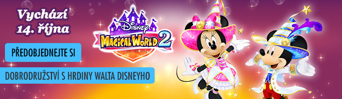 Předobjednejte si: 3DS Disney Magical World 2