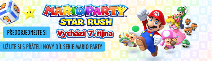 Předobjednejte si: 3DS Mario Party: Star Rush
