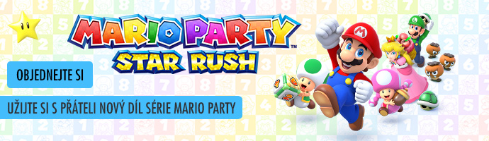 Objednejte si: 3DS Mario Party: Star Rush