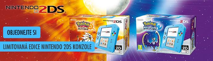 Objednejte si- Nintendo- 2DS+Pokemon.