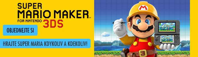 Super Mario Maker 3DS- objednejte si