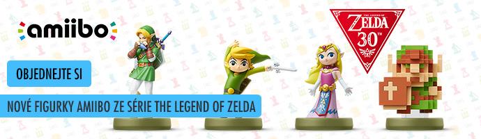 Zelda Amiibo figurky- objednejte si