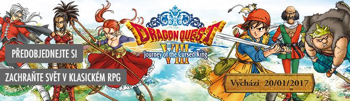 3DS Dragon Quest VIII přeobjendejte