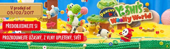 3DS Poochy & Yoshi's Woolly World_předobjednejte