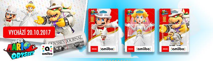 Mario odyssey wedding amiibo