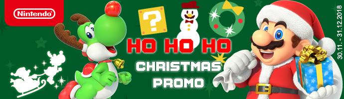 Nintendo Christmas promo