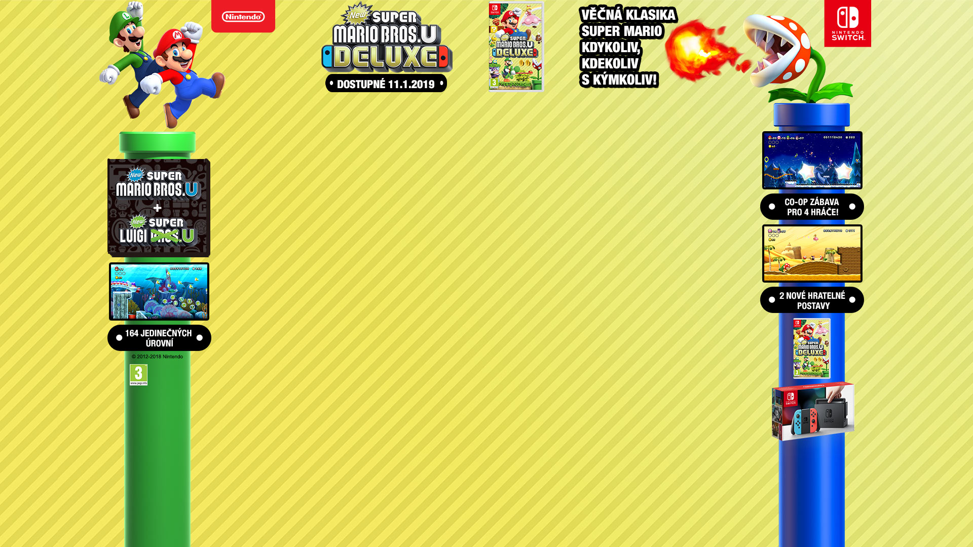 NINTENDOSHOP SWITCH New Super Mario Bros U Deluxe