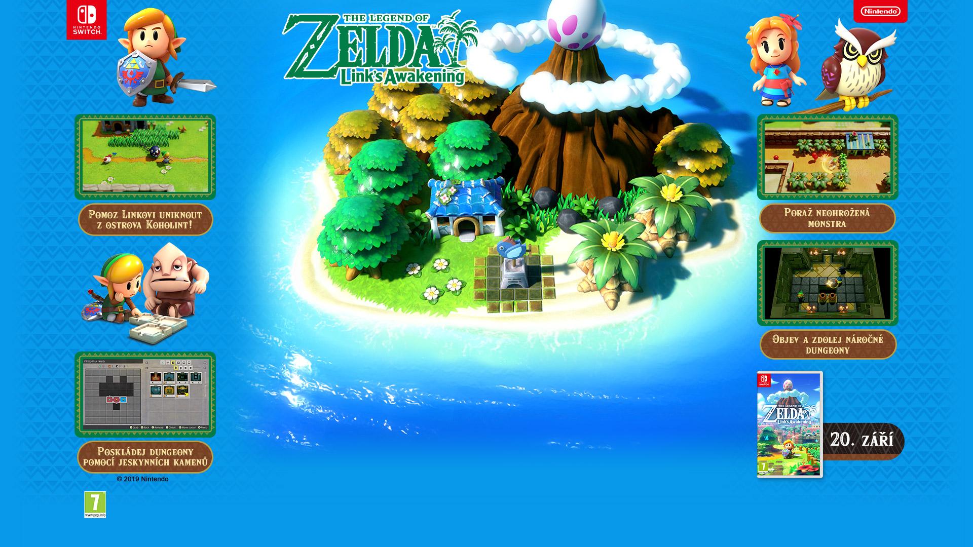 NINTENDOSHOP SWITCH The Legend of Zelda: Link