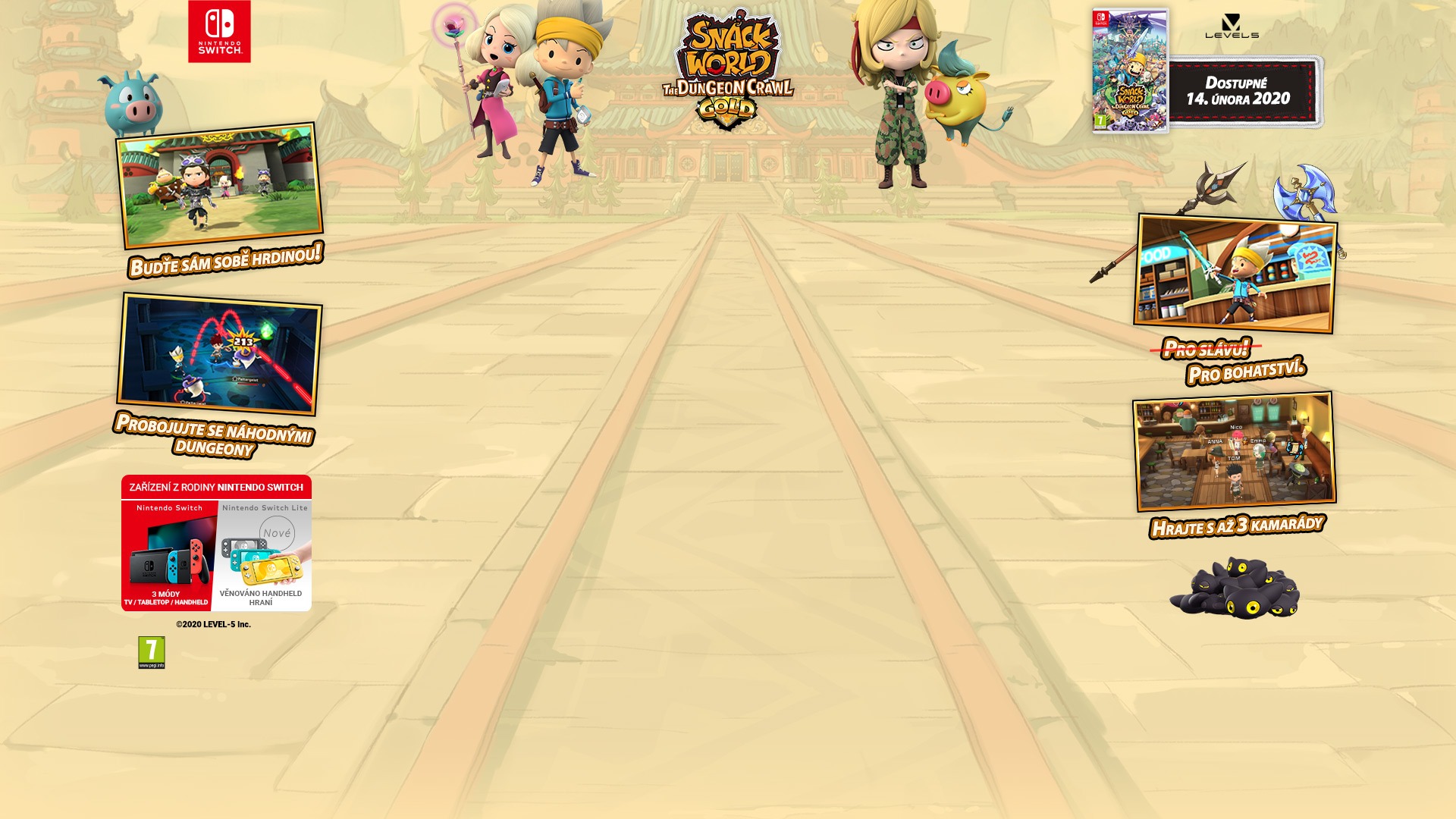NINTENDOSHOP Snack World: The Dungeon Crawl