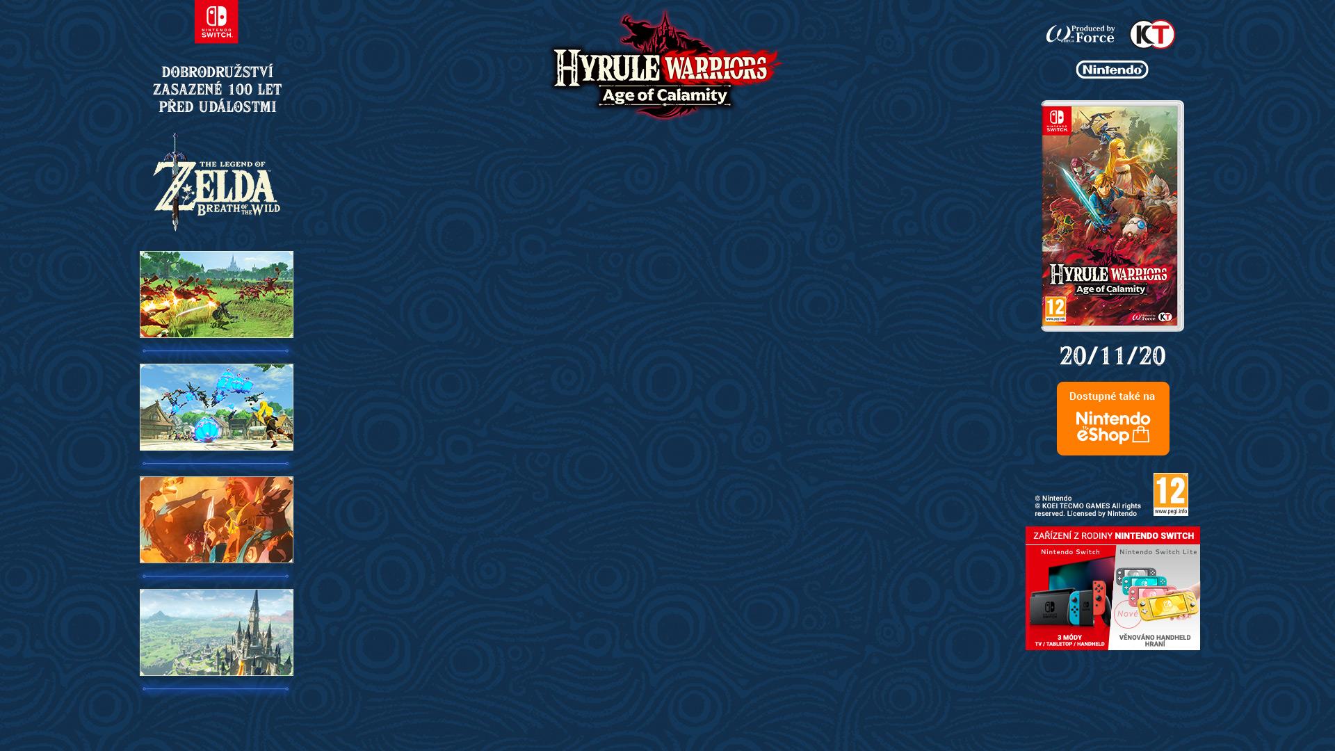 NINTENDOSHOP SWITCH Hyrule Warriors: Age of Calamity
