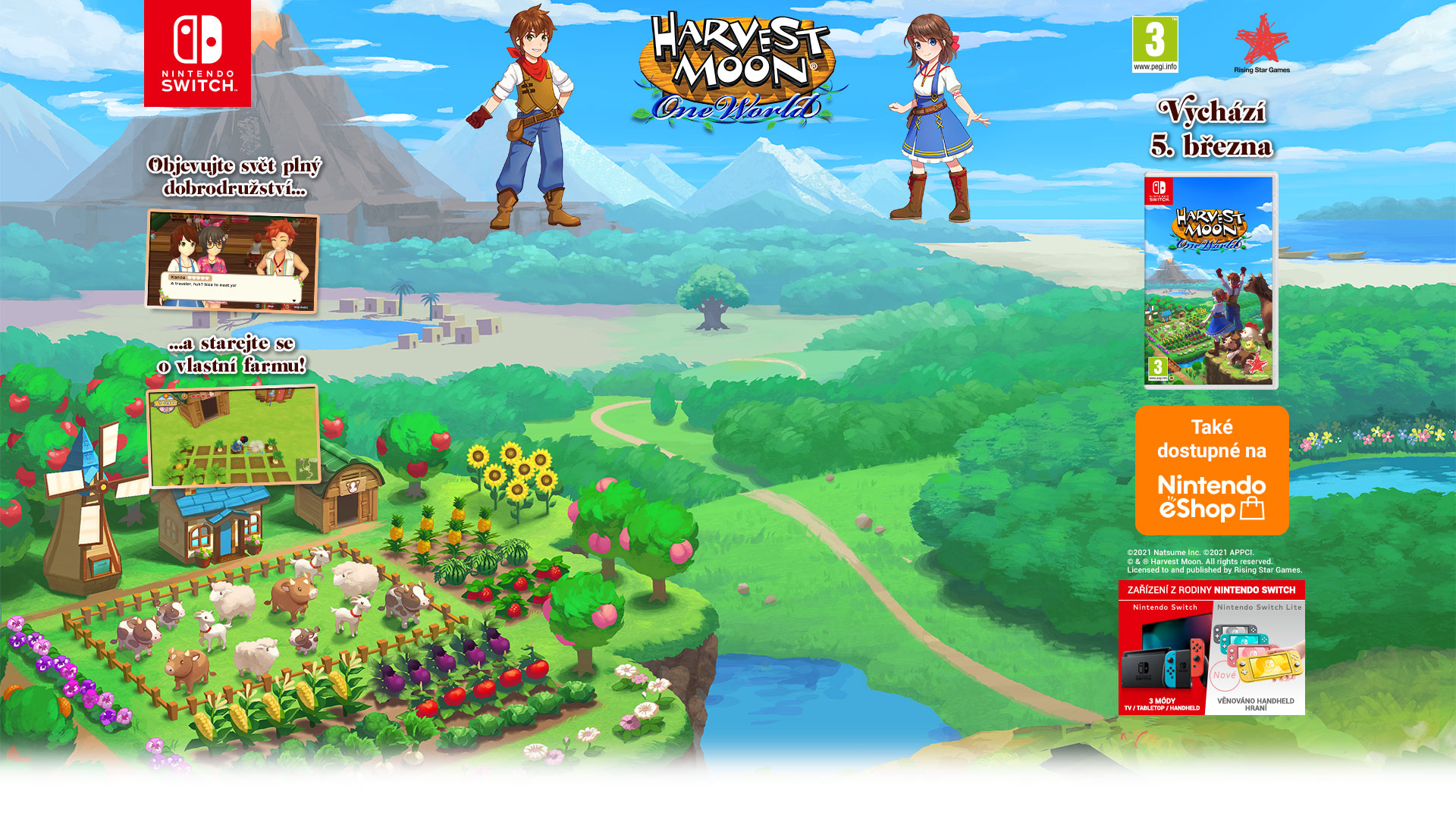 NINTENDOSHOP SWITCH Harvest Moon: One World