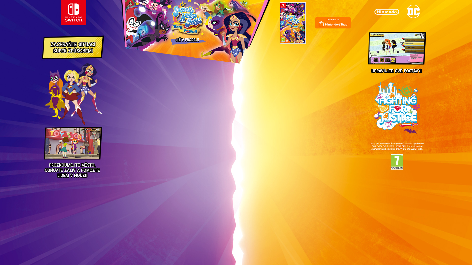 NINTENDOSHOP SWITCH DC Super Hero Girls: Teen Power