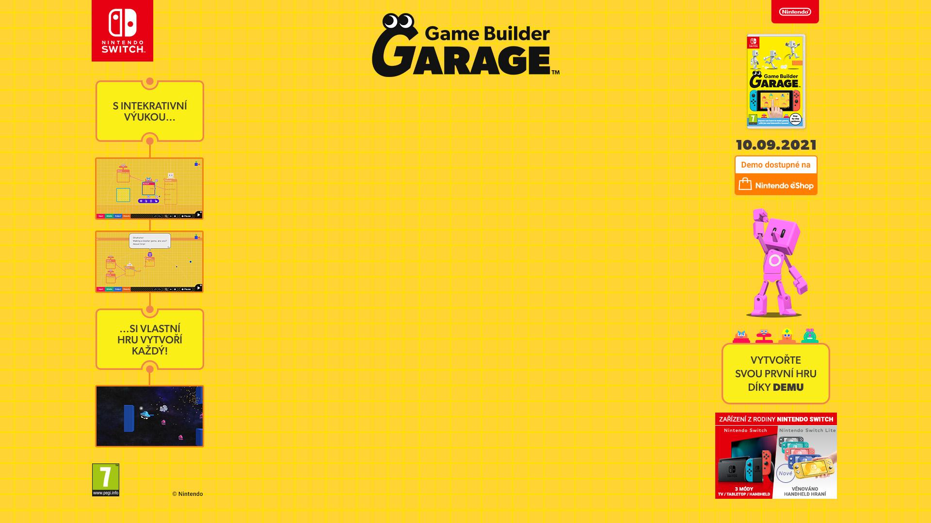 NINTENDOSHOP SWITCH Game Builder Garage