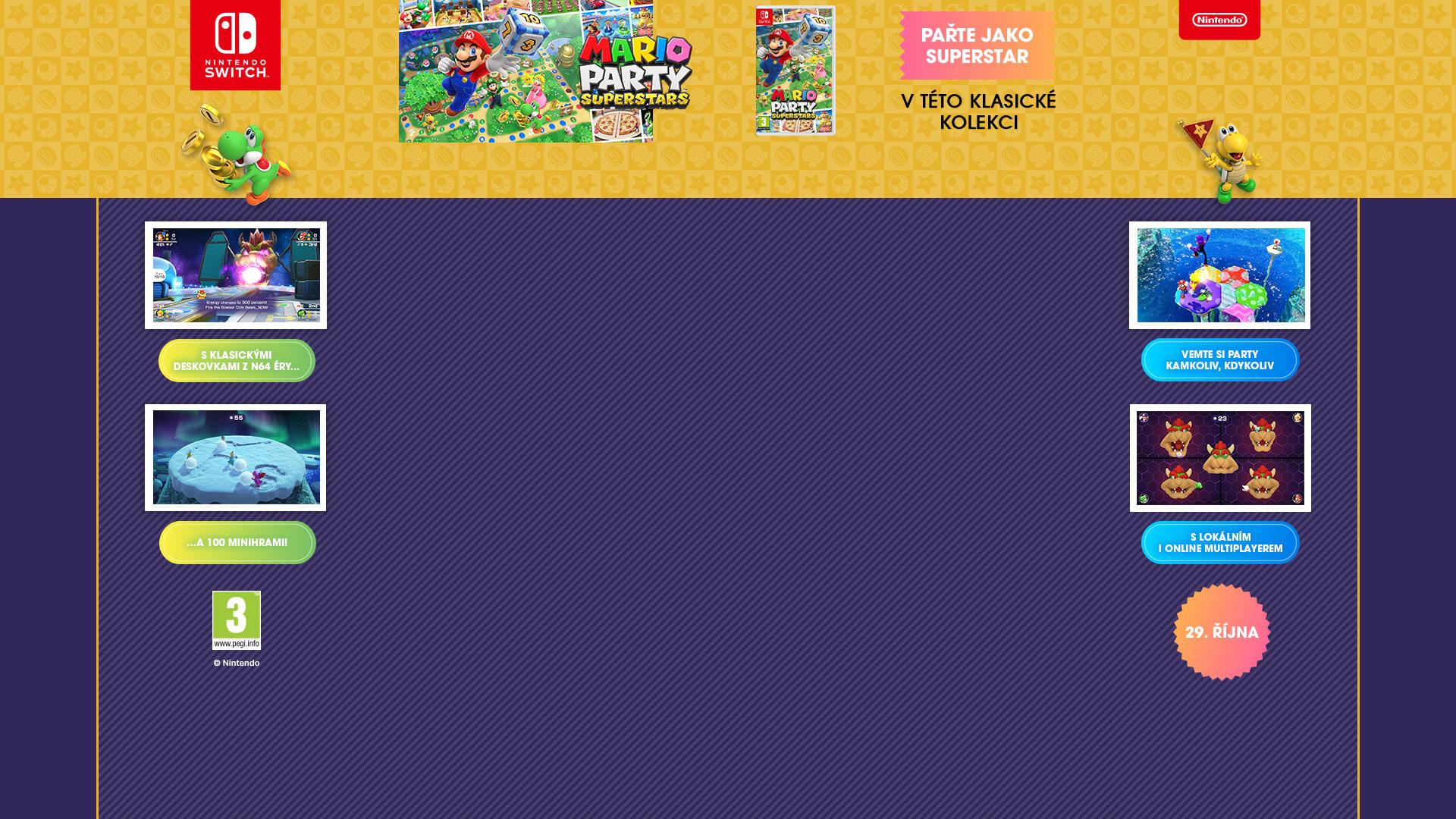 NINTENDOSHOP SWITCH Mario Party Superstars
